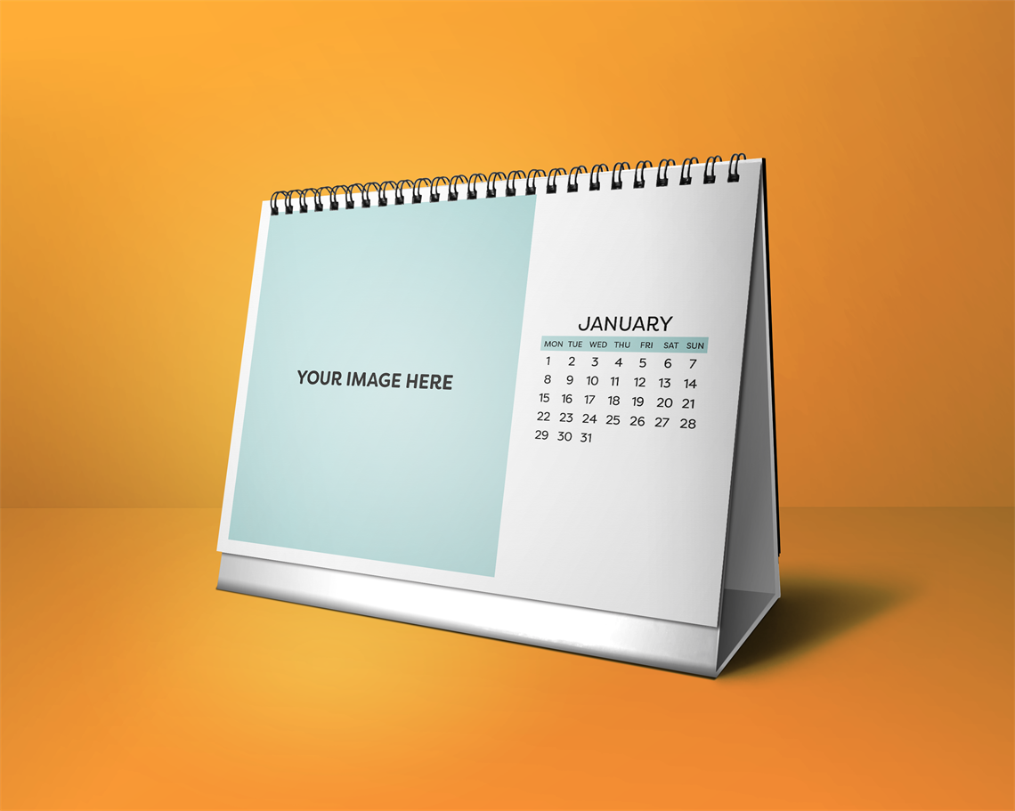 Picture of Easy Going - Desktop Calendar Template