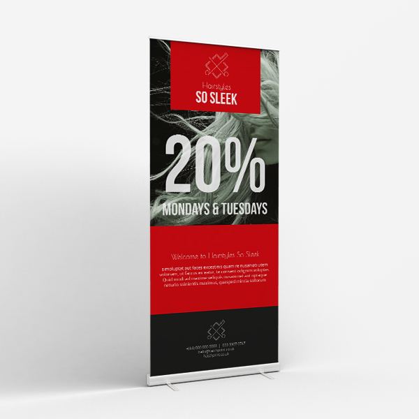 Picture of Chop and Change - Roller Banner