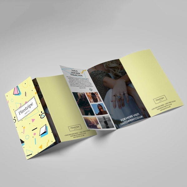 Picture of Creative Fashion - Z Fold Leaflet