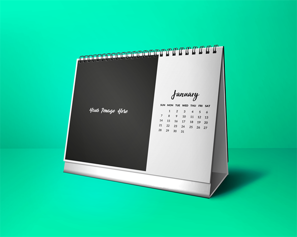 Picture of Keeping it simple - Desktop Calendar Template