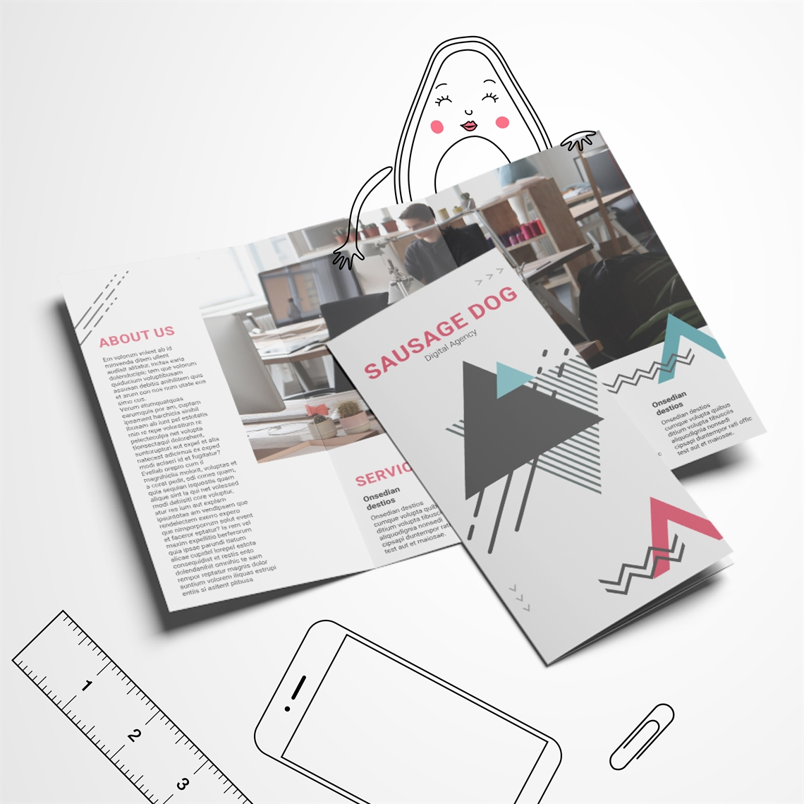 Picture of Get Digital - C Fold Leaflet