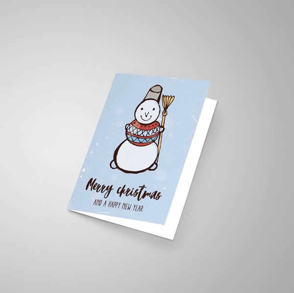 Picture of Merry Christmas Snowman