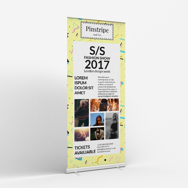 Picture of Creative Fashion - Roller Banner
