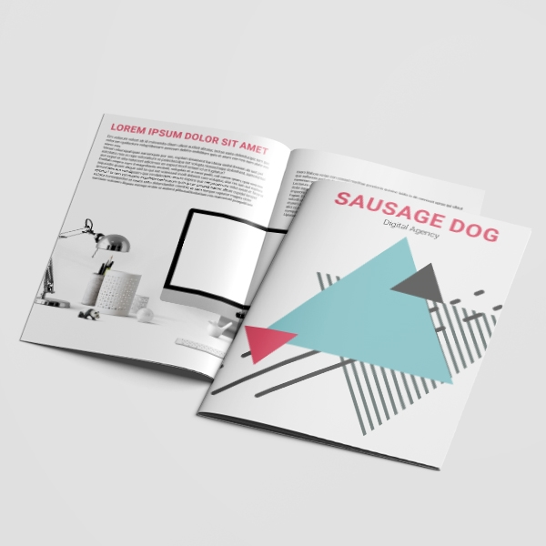 Picture of Get Digital - Saddle Stitched Brochure