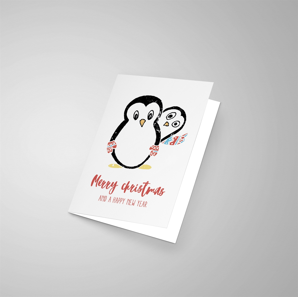 Picture of Winter Christmas Penguins