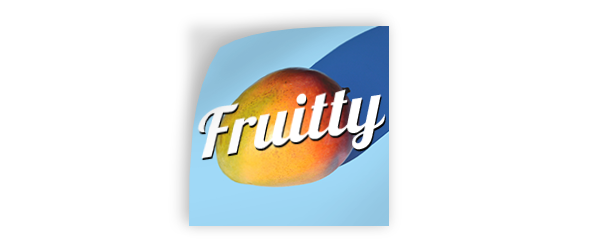 Sticker with image of a fruit printed on it, a product from Hatch