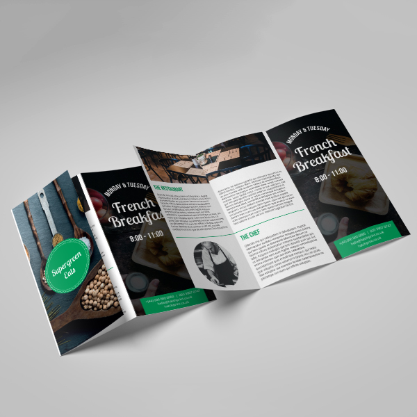 Picture of Picture your Business - Z Fold Leaflet